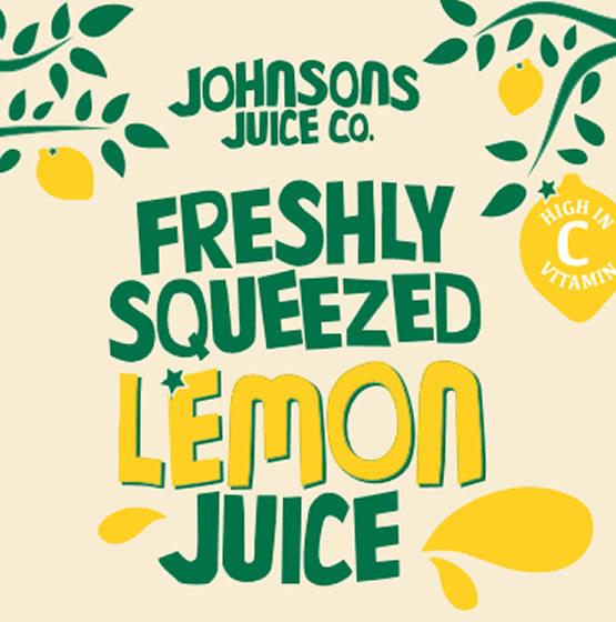 Freshly Squeezed Lemon Juice (1L & 2.27L)