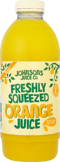Freshly Squeezed RAW Orange Juice (1L & 2.27L)