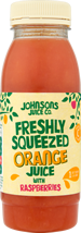 Freshly Squeezed Orange Juice with Raspberries (250ml)