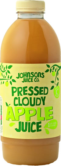 Pressed Cloudy Apple Juice (1L, 2.27L & 12.5L)